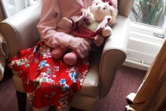 joan doll therapy care home Chesterfield