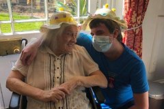 Easter Sunday nursing home Chesterfield