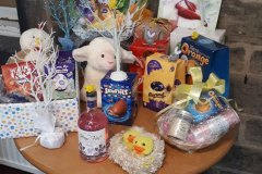 Easter raffle care home Chesterfield