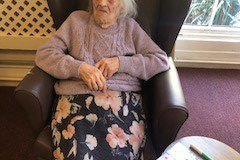 Bingo at our care home in Chesterfield