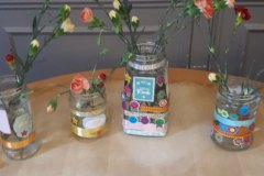 jar decorating at nursing home Chesterfield