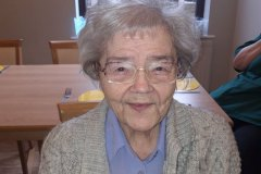 Hairdressers visit care home in Hyde