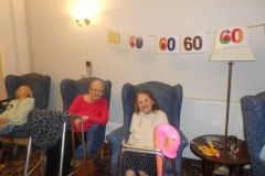 60s day celebrations at Charnley House Care Home in Hyde