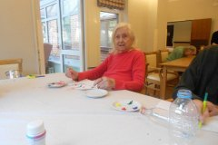 Care Home Hyde art day