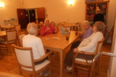 Jigsaw day at care home in Hyde