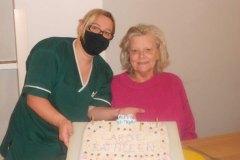 January Birthdays at nursing home in Hyde