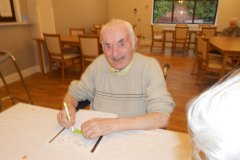 Chat time at our nursing home in Hyde
