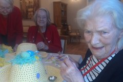 Residential care home Hyde - Easter Bonnet Making Competition