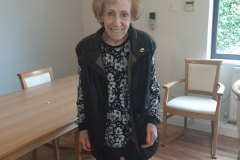 Hairdresser visit at residential care home Hyde