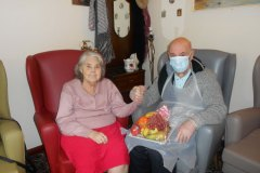 Visits at our nursing home in Hyde