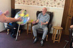 Seaside funday at residential care home Chesterfield