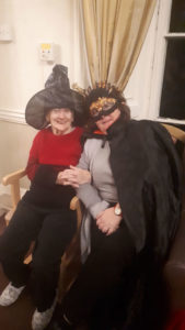 care homes Chesterfield Halloween