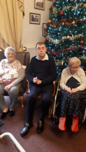 care home Chesterfield Christmas party
