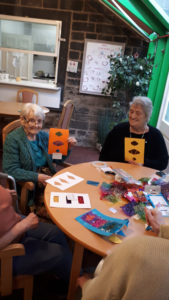 Calendar crafts nursing home Chesterfield
