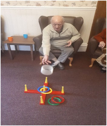 games at Chesterfield nursing home