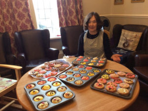 care home Rotherham activities baking