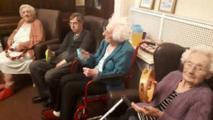 Lost Chords dementia care Chesterfield