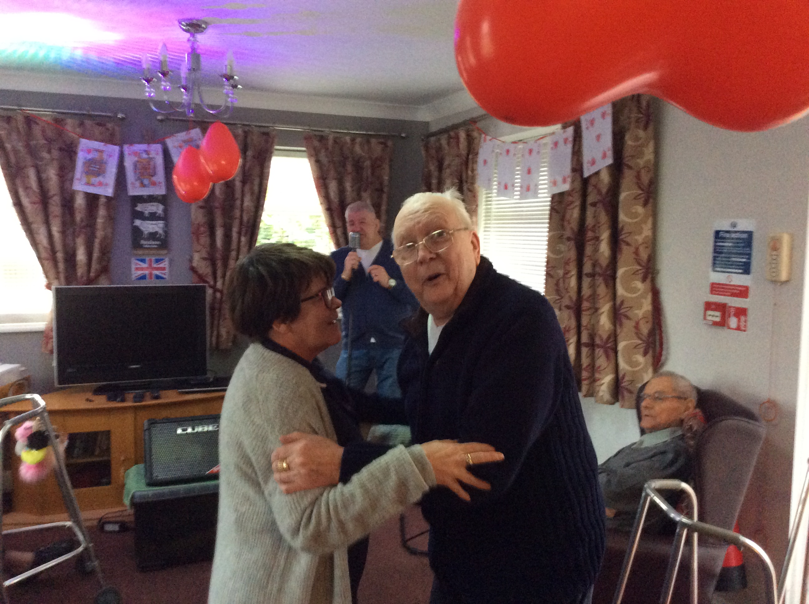 Valentines day party care home Rotherham