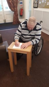 John letter - care home Chesterfield