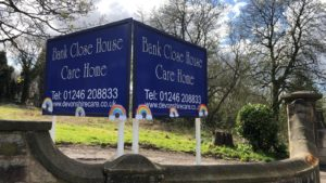 rainbows care home Chesterfield