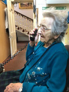 phone call care home Chesterfield