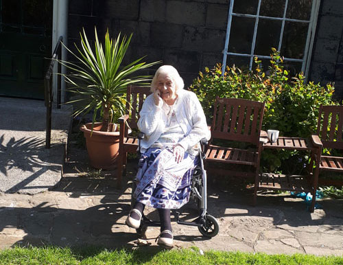 garden care home in Chesterfield