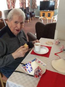 buffet tea nursing home Rotherham