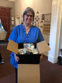 donation to care home Chesterfield