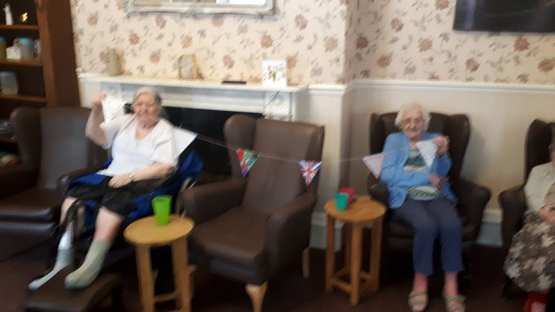 flags residential care home Chesterfield