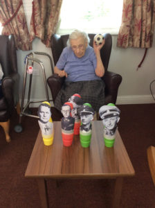 skittles game care home Rotherham