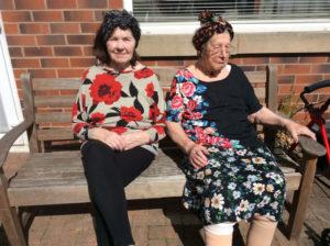 VE Day celebrations Rotherham Nursing Home