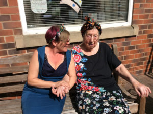 VE Day celebrations Rotherham Nursing Home