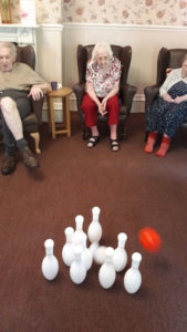 tenpin bowling nursing home Chesterfield