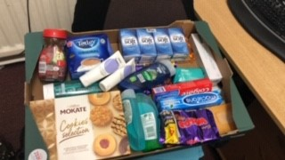 Tesco donation nursing home Chesterield