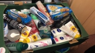 Tesco donation nursing home Chesterfield