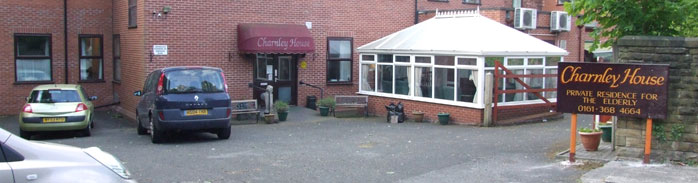 Charnley house nursing care home Hyde outside